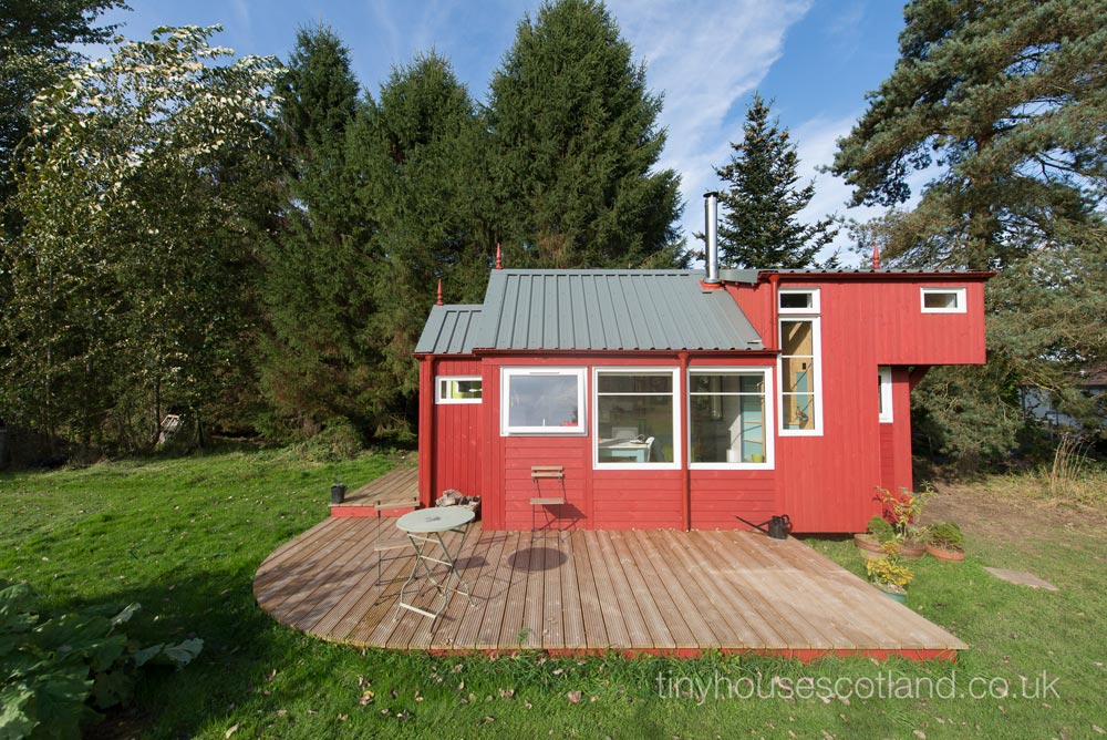 Large Deck - NestHouse by Tiny House Scotland