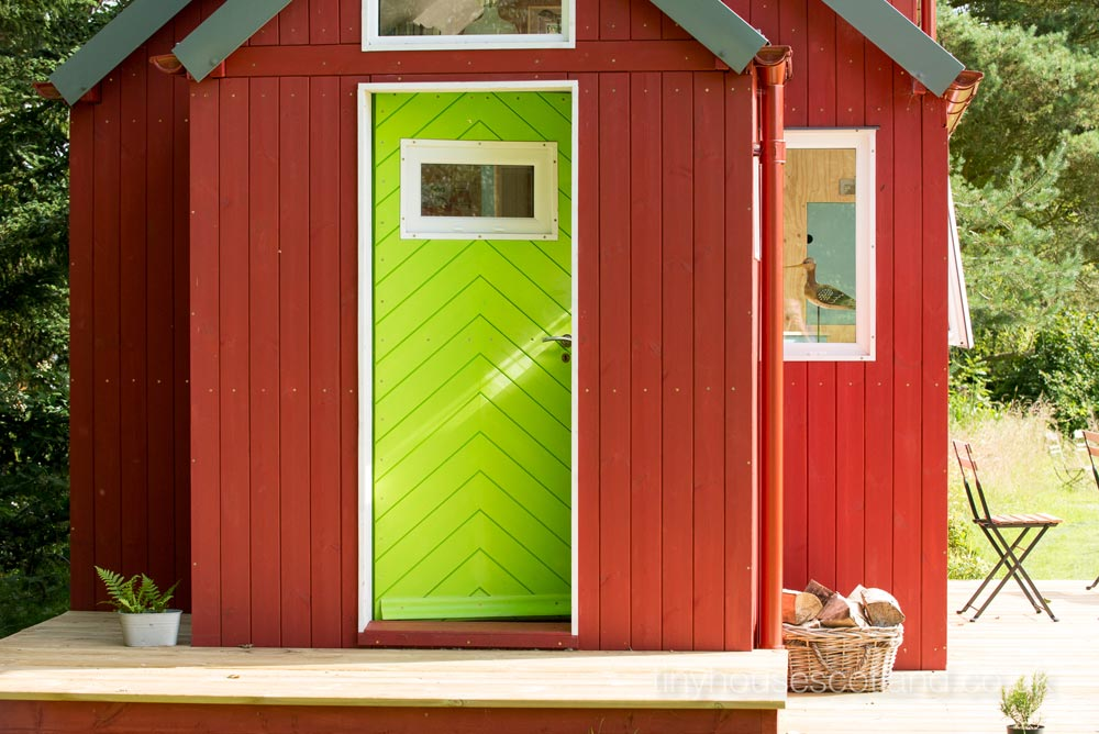 Front Door - NestHouse by Tiny House Scotland