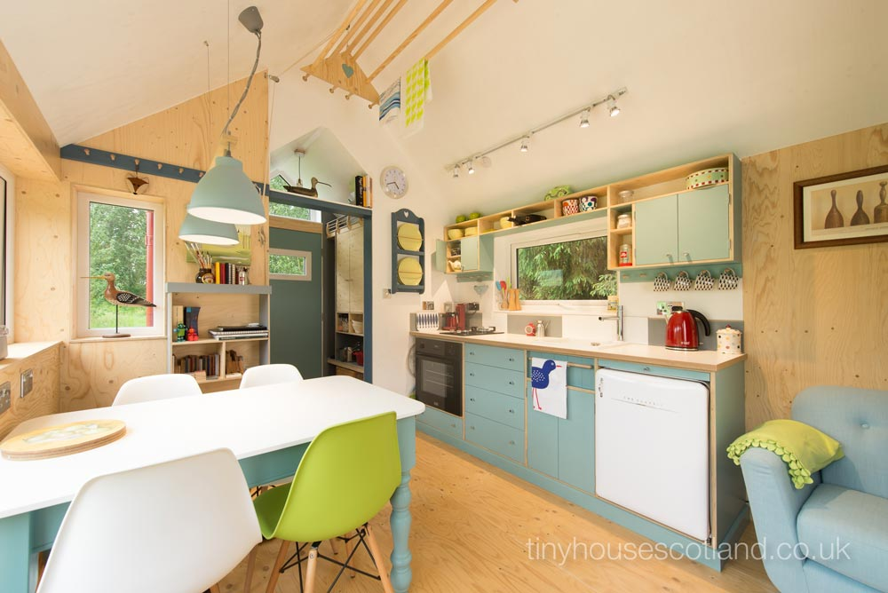 Kitchen & Dining - NestHouse by Tiny House Scotland