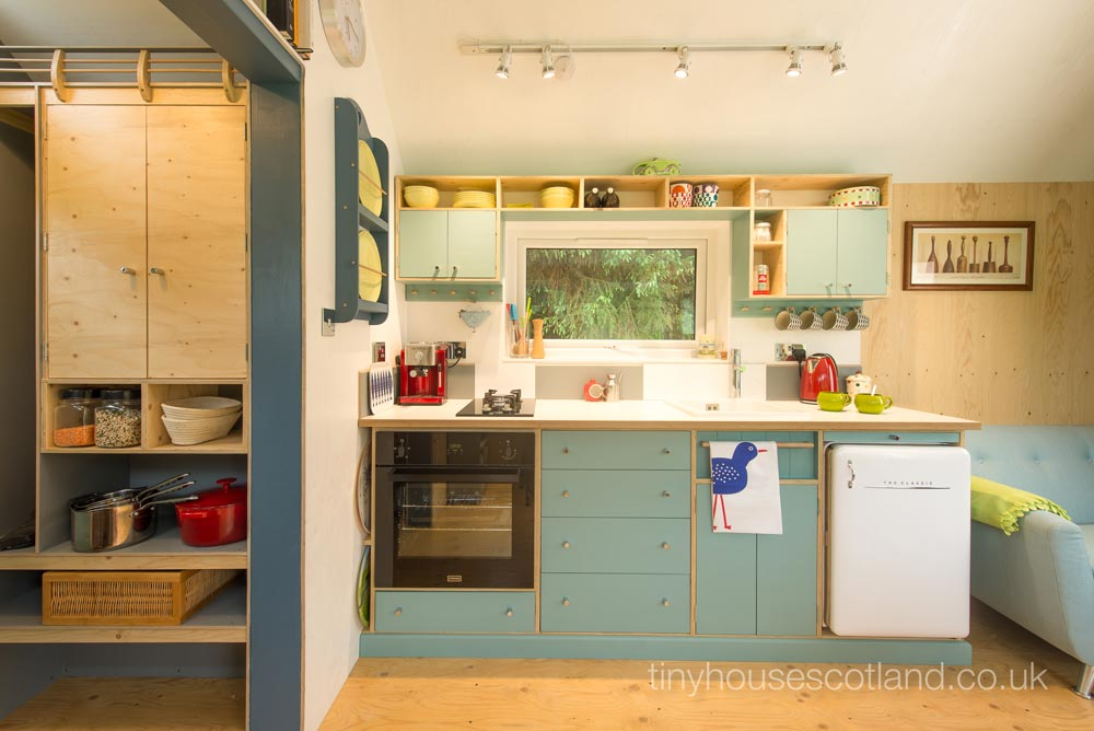 Kitchen Cabinets - NestHouse by Tiny House Scotland