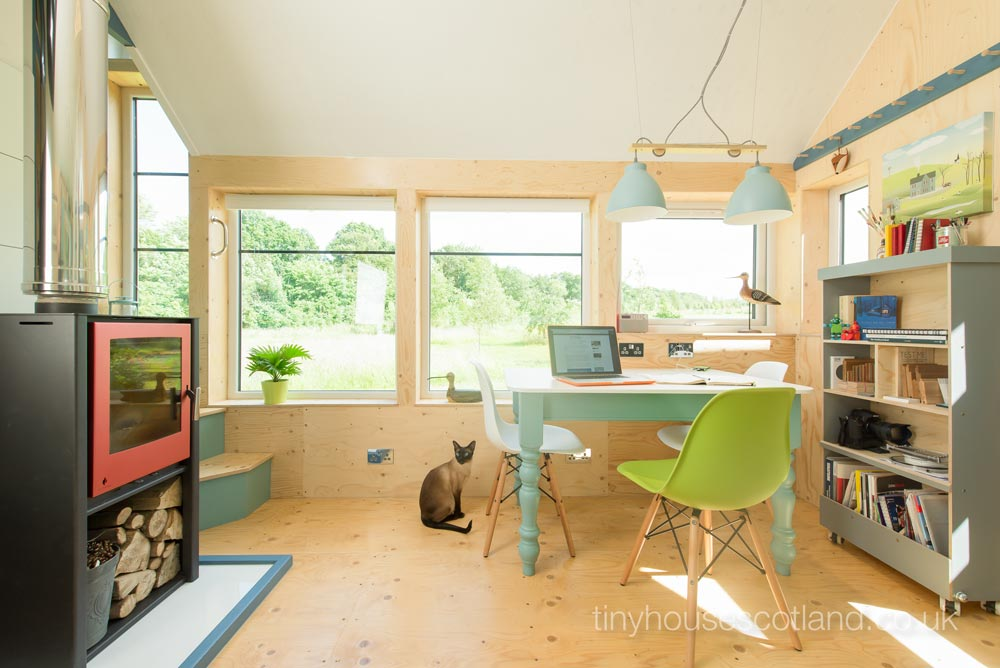 Large Windows - NestHouse by Tiny House Scotland