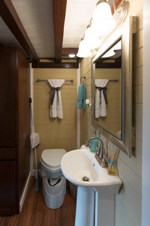 Bathroom - Nixie by Tiny House Chattanooga