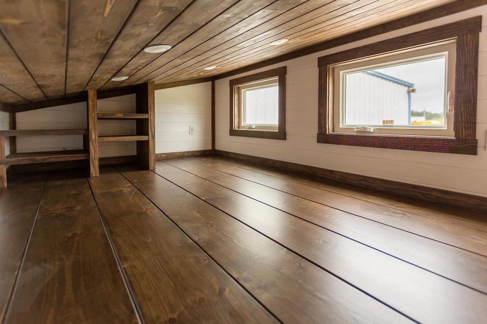 Bedroom Loft - Outlander by Tiny House Chattanooga