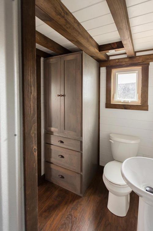 Bathroom Linen Closet - Outlander by Tiny House Chattanooga
