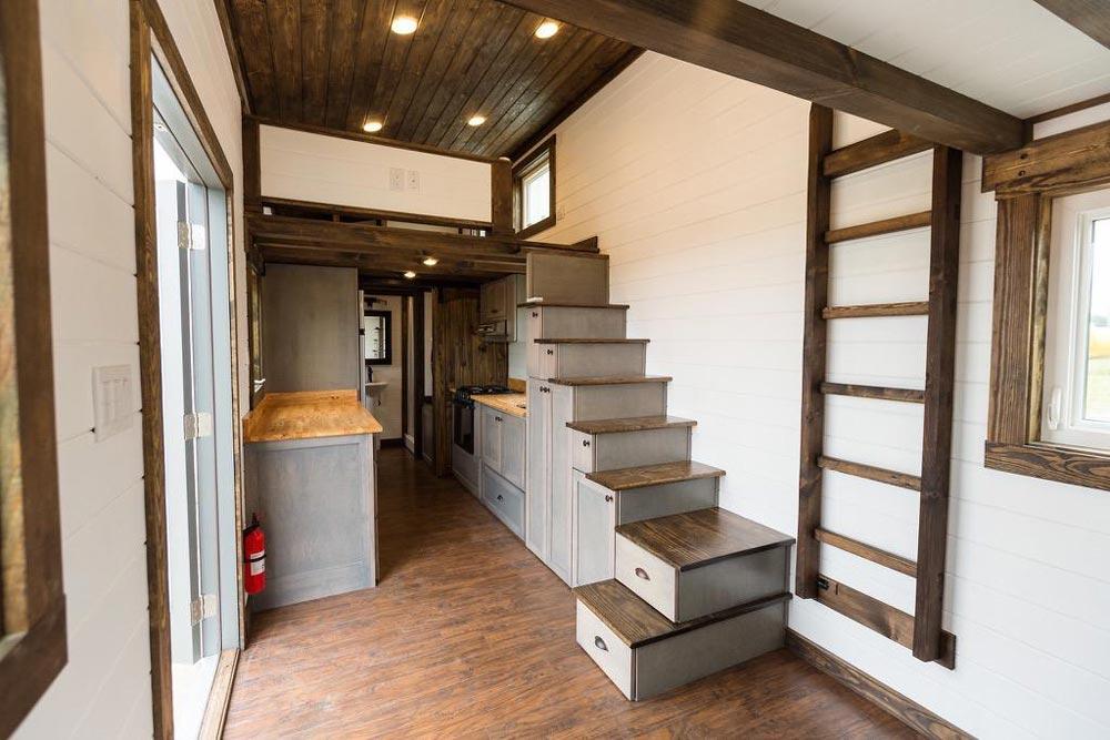 Tiny House Interior - Outlander by Tiny House Chattanooga