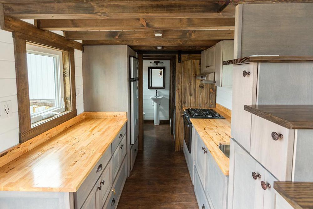 Butcher Block Counters - Outlander by Tiny House Chattanooga