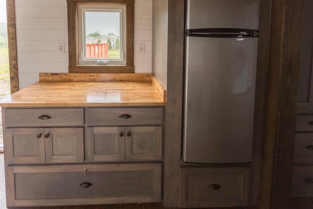 Refrigerator - Outlander by Tiny House Chattanooga
