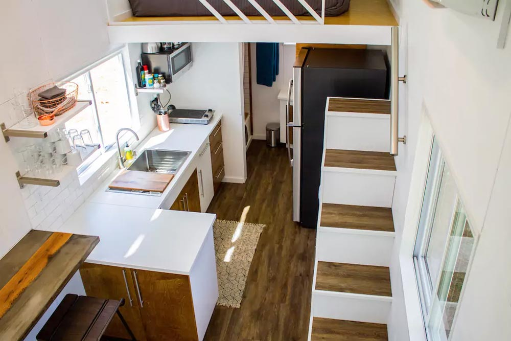 View From Loft - River Resort by Liberation Tiny Homes