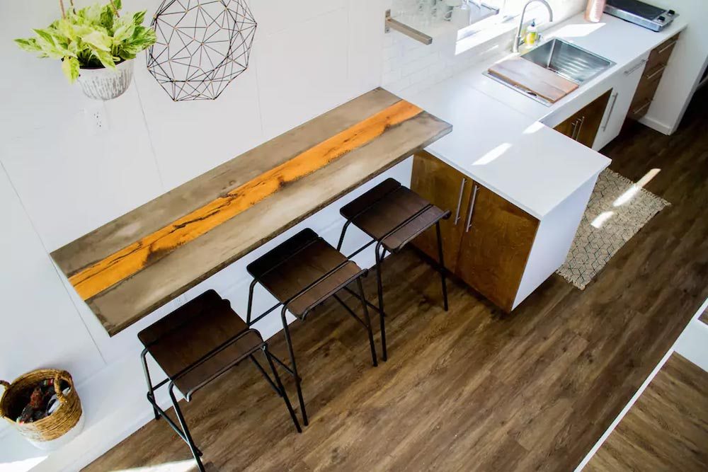 Custom Table - River Resort by Liberation Tiny Homes