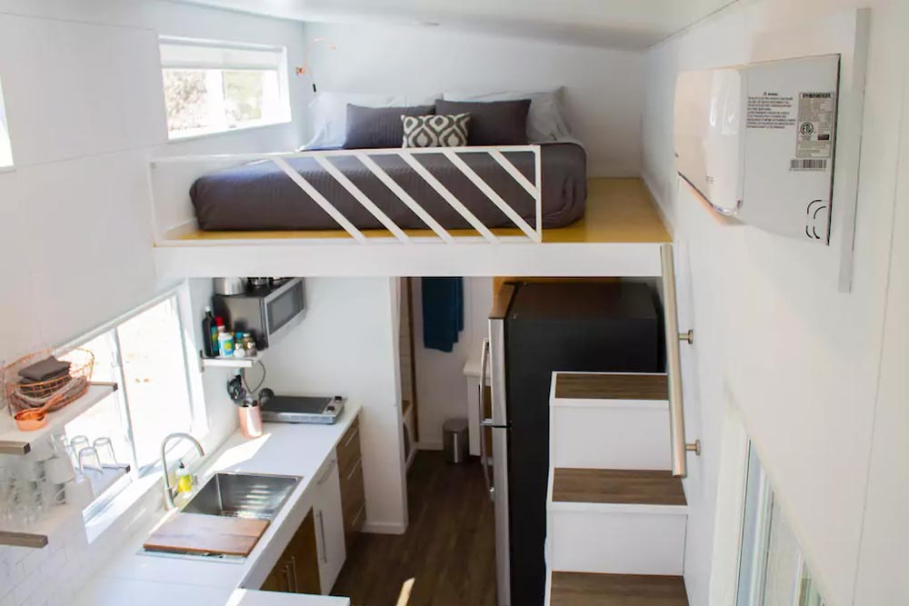 Bedroom Loft - River Resort by Liberation Tiny Homes