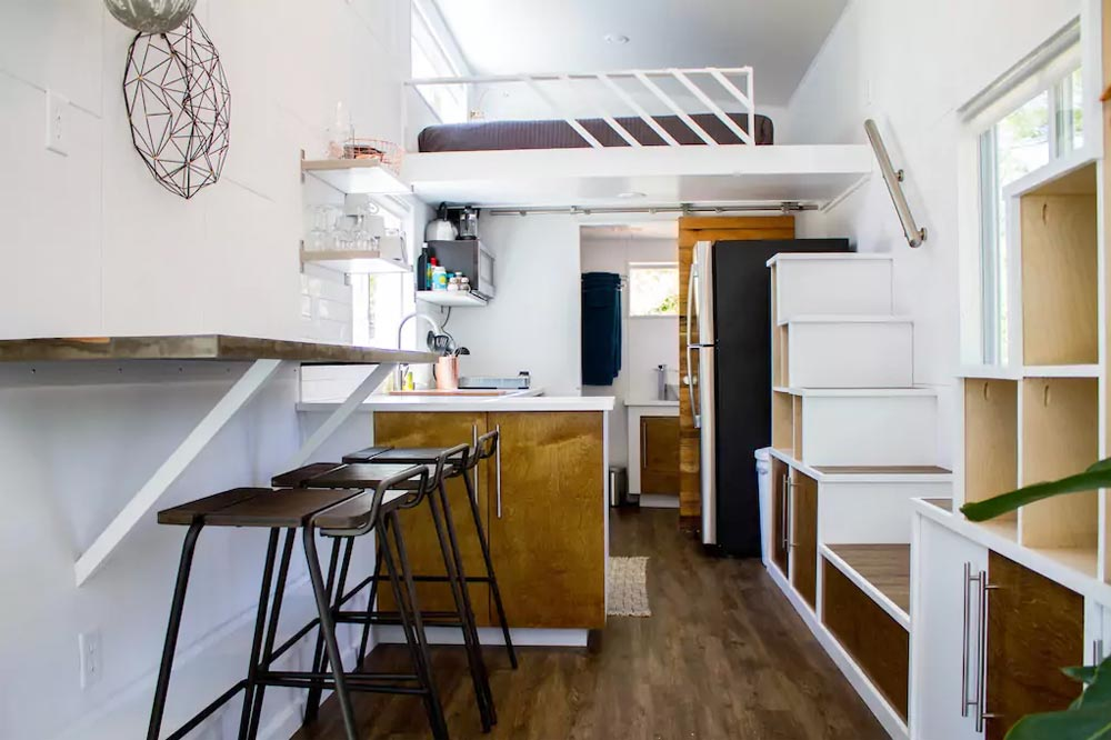 Table & Kitchen - River Resort by Liberation Tiny Homes