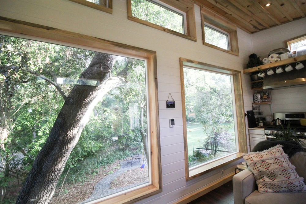 Picture Windows - Urban Cabin by Portable Cedar Cabins