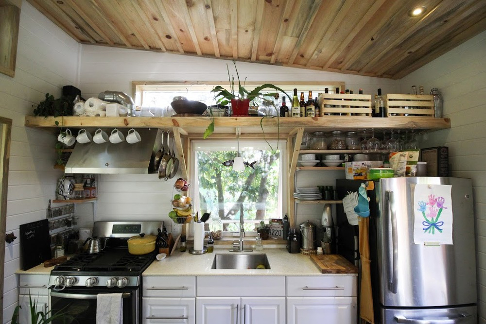 Kitchen - Urban Cabin by Portable Cedar Cabins