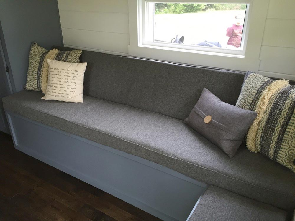Sofa w/ Storage - Wanigan by Burrow Tiny Homes