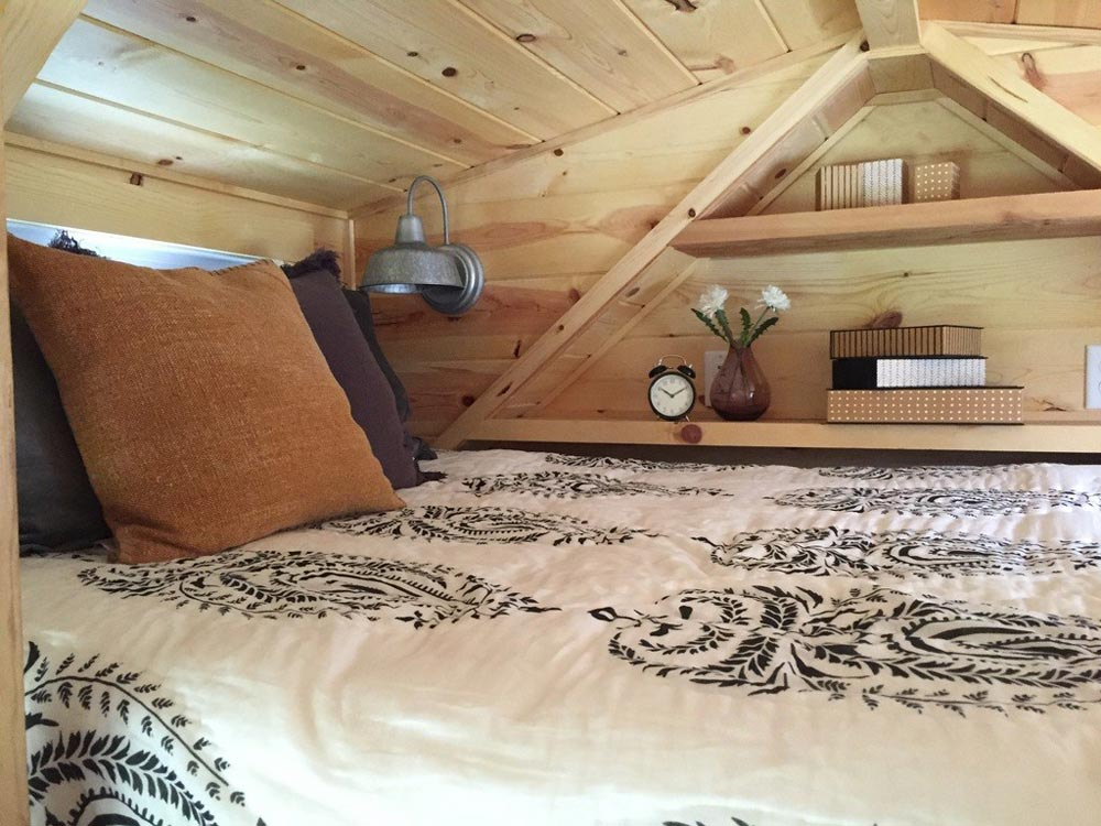 Bedroom Loft - Wanigan by Burrow Tiny Homes