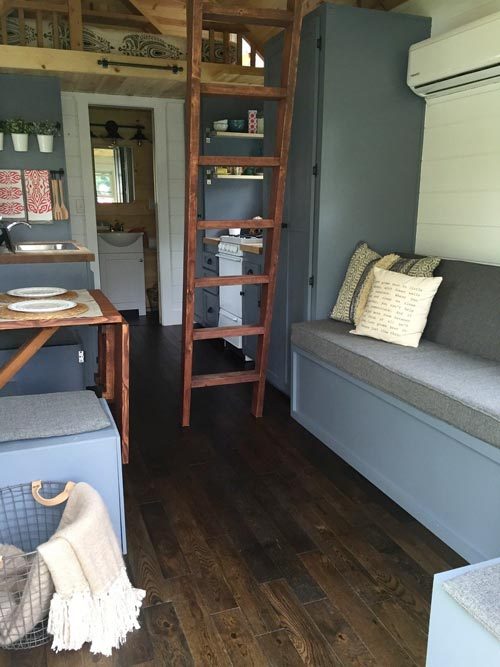 Living Area - Wanigan by Burrow Tiny Homes