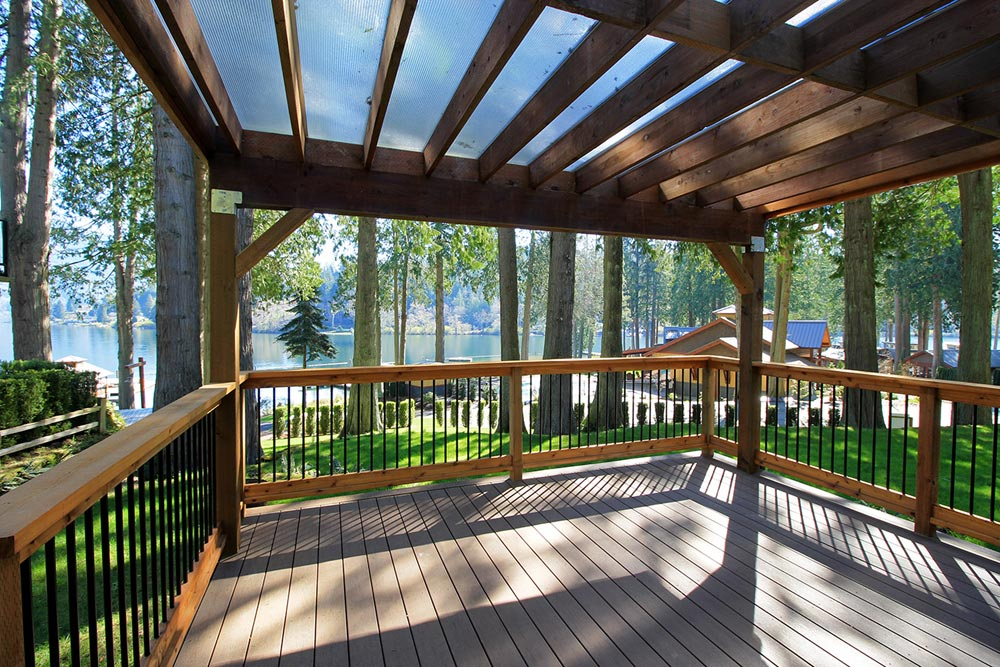 Covered Deck - Whidbey by West Coast Homes