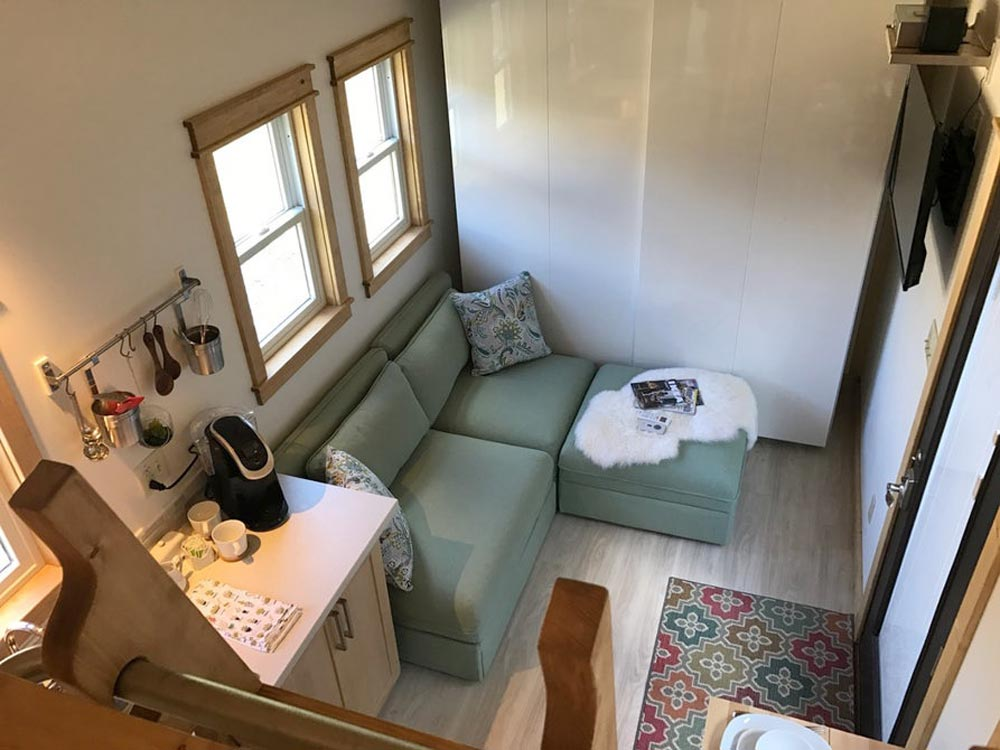 Living Room - Amsterdam by Transcend Tiny Homes