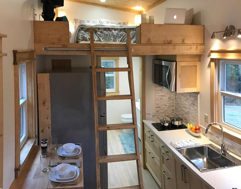 Loft Ladder - Amsterdam by Transcend Tiny Homes