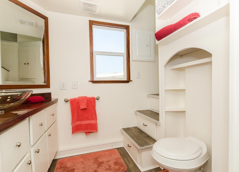 Spacious Bathroom - Amy at Tiny Siesta