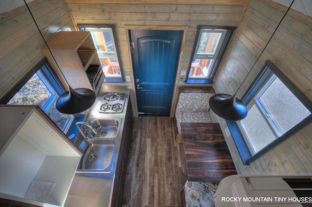 Kitchen & Dining - Ol' Berthoud Blue by Rocky Mountain Tiny Houses