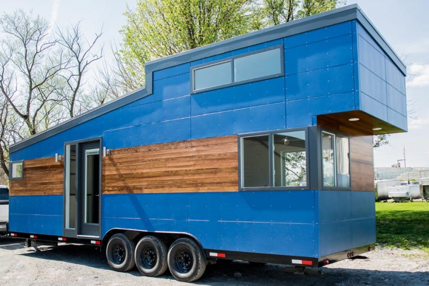 Big Blue by Liberation Tiny Homes