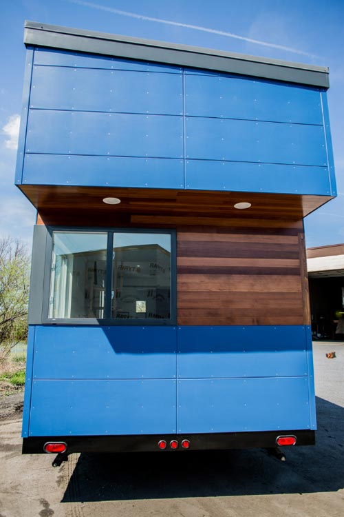 Exterior Detail - Big Blue by Liberation Tiny Homes