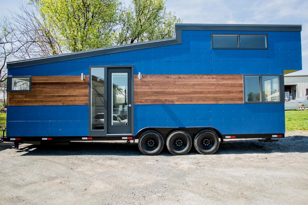 28' Tiny House - Big Blue by Liberation Tiny Homes