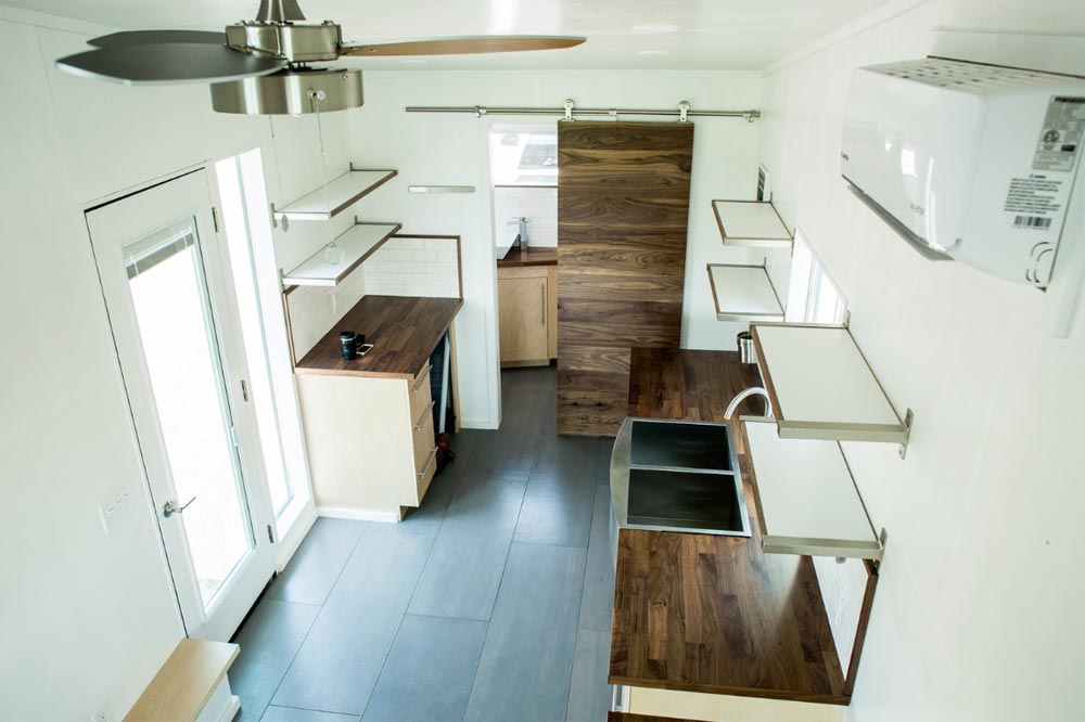 Tiny House Interior - Big Blue by Liberation Tiny Homes