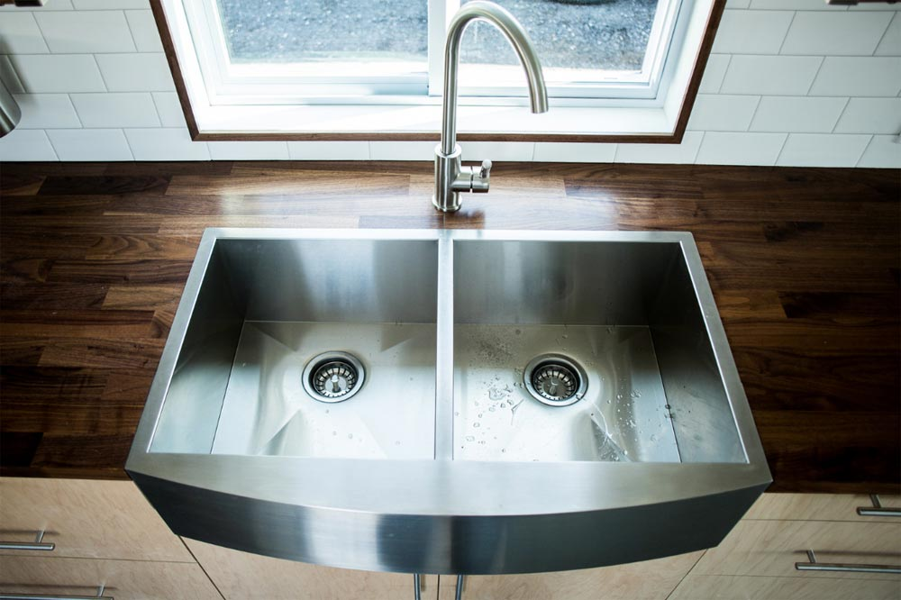 Kitchen Sink - Big Blue by Liberation Tiny Homes