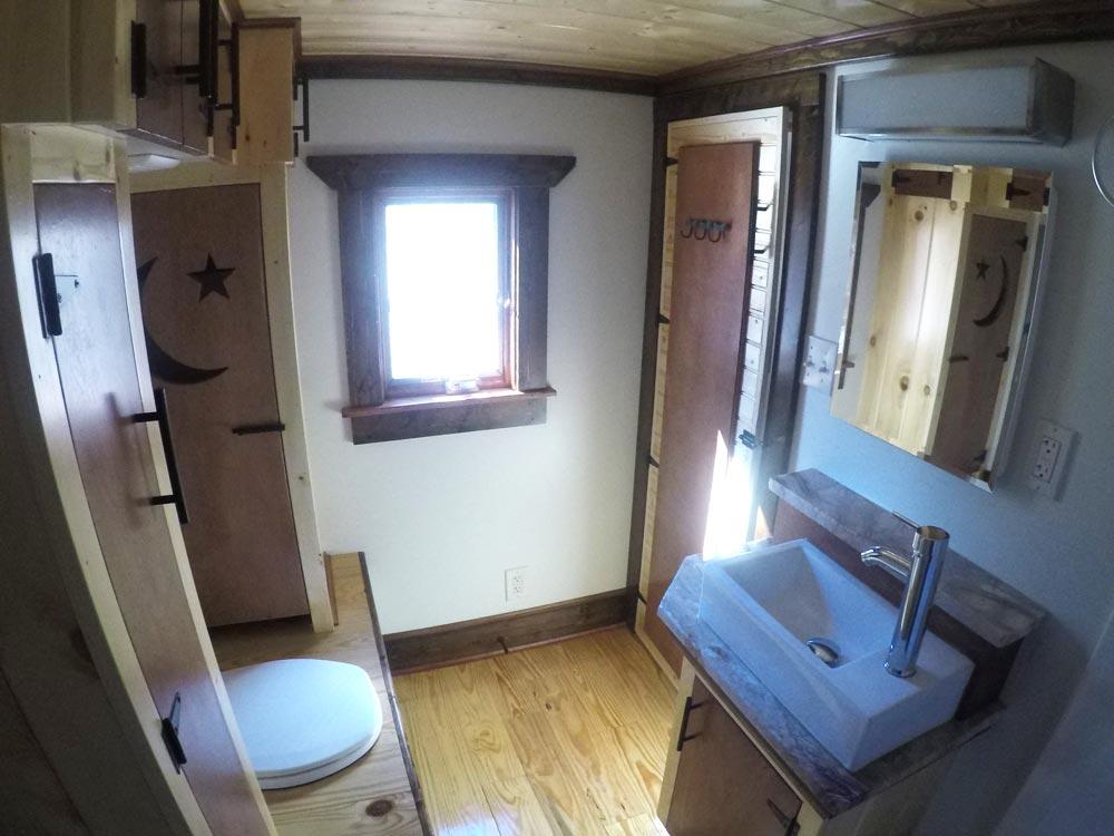 Bathroom - Blue Ridge by Aneides Tiny Homes