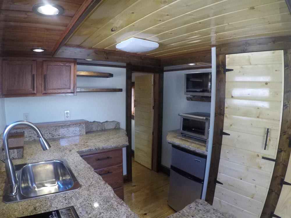 Granite Counters - Blue Ridge by Aneides Tiny Homes