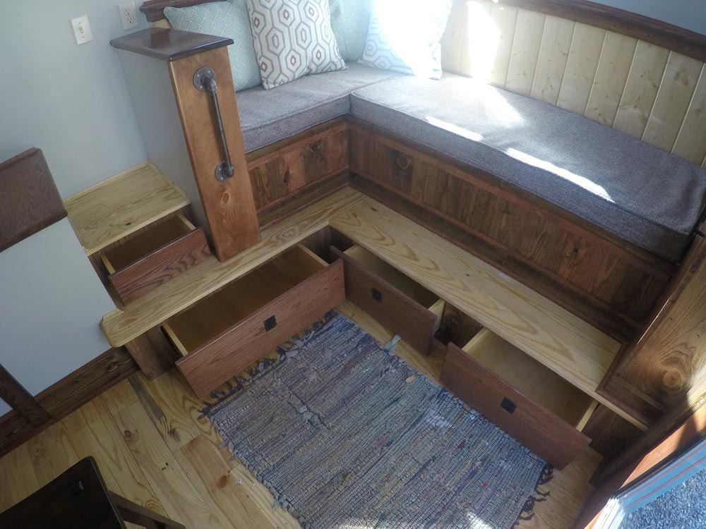 Under Couch Storage - Blue Ridge by Aneides Tiny Homes