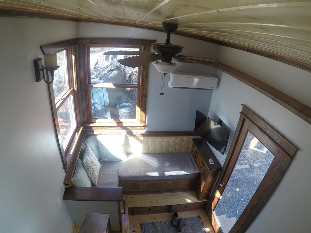 View From Loft - Blue Ridge by Aneides Tiny Homes
