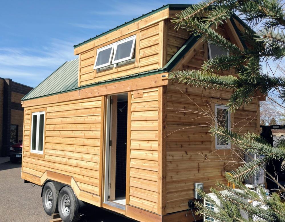 breathe easytiny green cabins - tiny living