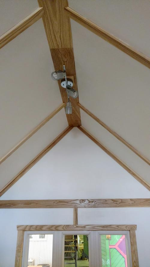 Ceiling Detail - Breathe Easy by Tiny Green Cabins