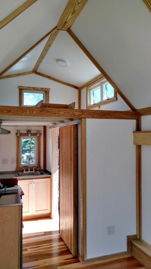 Bedroom Loft - Breathe Easy by Tiny Green Cabins