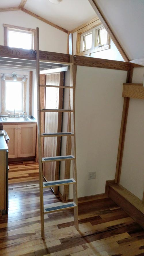 Loft Ladder - Breathe Easy by Tiny Green Cabins
