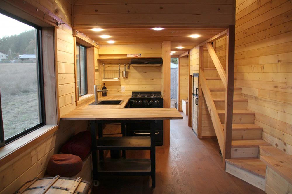 Plywood-Free Interior - Chinook by Westcoast Outbuildings