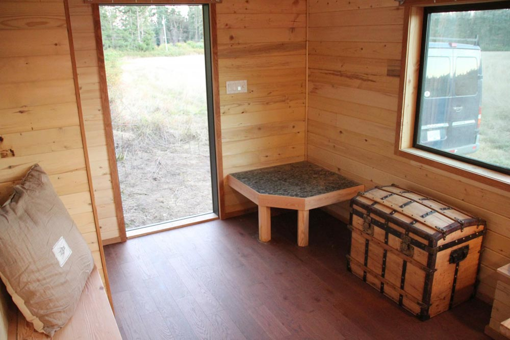 Wood Stove Platform - Chinook by Westcoast Outbuildings