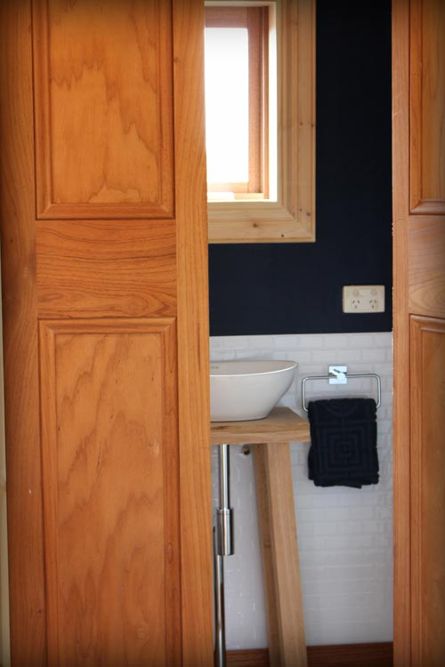 Bathroom Doors - Colonial Blue by Wagonhaus