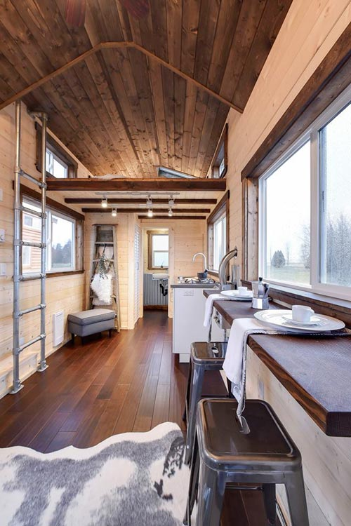 Stained Ceilings - Custom Napa by Mint Tiny Homes