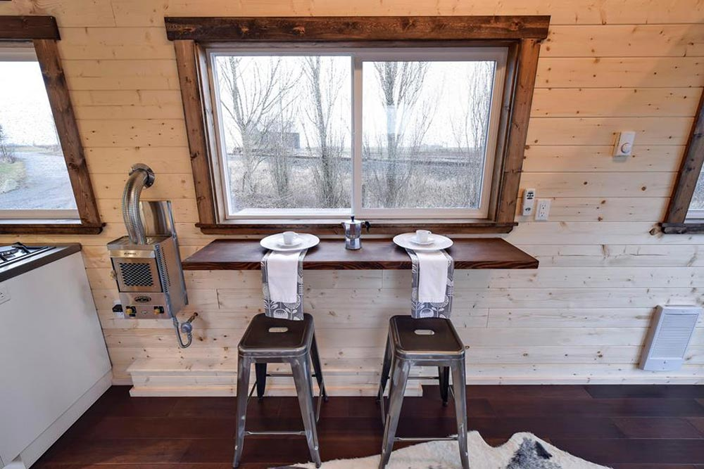 Bar and Metal Stools - Custom Napa by Mint Tiny Homes