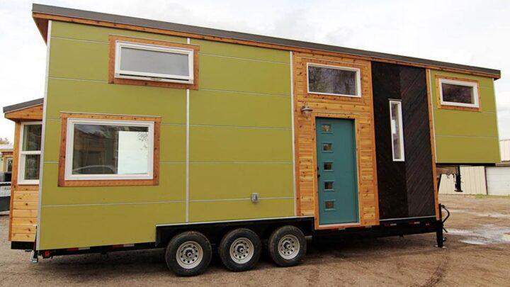Elise & Clara's Tiny House by MitchCraft Tiny Homes