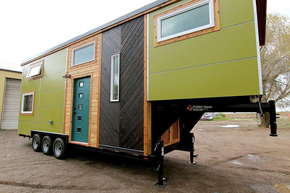 Gooseneck Tiny House - Elise & Clara's Tiny House by MitchCraft Tiny Homes