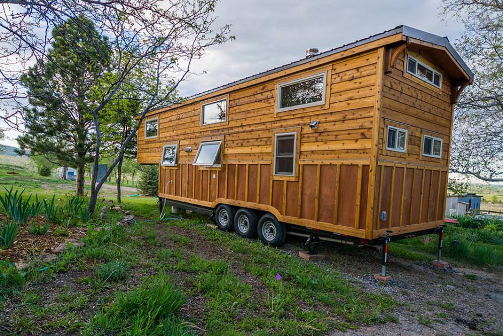 Gooseneck Tiny House - Eric & Oliver's Tiny House by Mitchcraft Tiny Homes