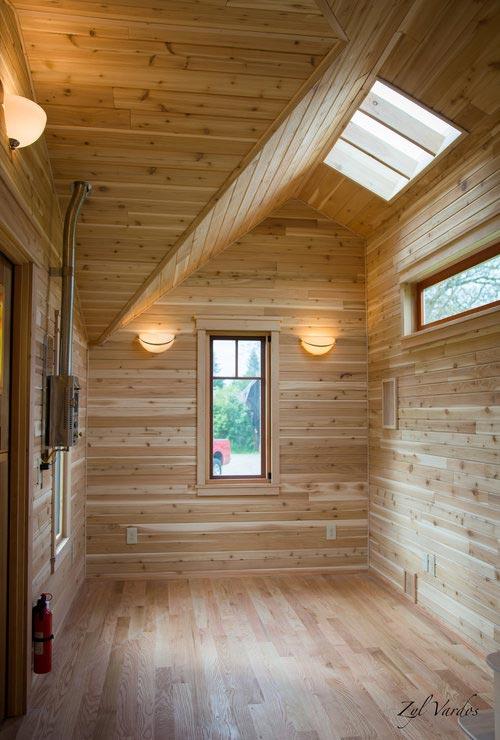Living Room w/ Skylight - Fuchsia by Zyl Vardos