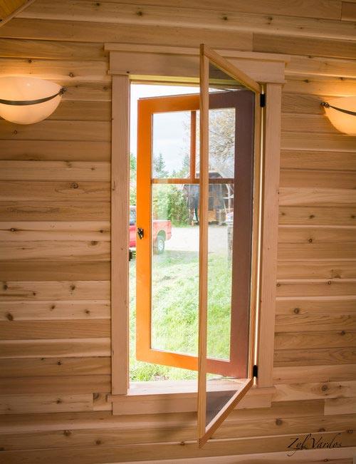 Custom Windows - Fuchsia by Zyl Vardos