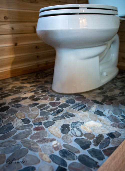 Stone Flooring - Fuchsia by Zyl Vardos