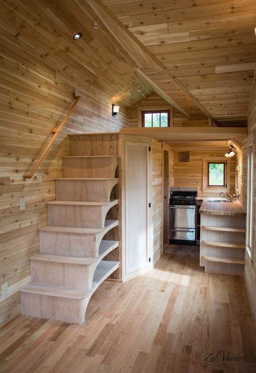 Storage Stairs - Fuchsia by Zyl Vardos
